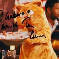Tim Curry és Patrick Swayze autogramja