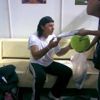 Sztárok és autogramjaik a hétvégi teniszgáláról