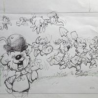 Dargay Attila saját kezű rajzai