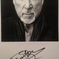 Tom Jones autogramja