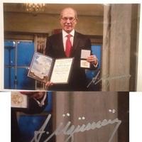 Ahmet Üzümcü aláírt fotója