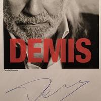 Demis Roussos (1946-2015) autogramja