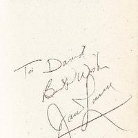 Jim Lovell autogramja - újra!