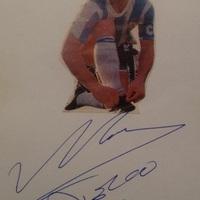 Diego Maradona autogramja