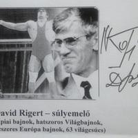 David Rigert súlyemelő Magyarországon
