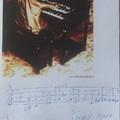Rhoda Scott kottát írt és dedikált Budapesten