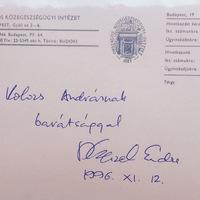 Czeizel Endre (1935-2015) dedikációi