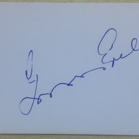 Grosics Gyula (1926-2014) autogramja