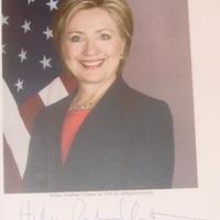 Hillary Clinton Budapesten