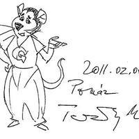 Így készül Grabowski - Ternovszky Béla rajzolt nekünk