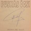 Puskás Ferenc (1927-2006) autogramja 1996-ból