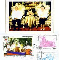 Norodom Szihanuk király (1922-2012) dedikációja