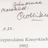 Gobbi Hilda (1913-1988) dedikációja