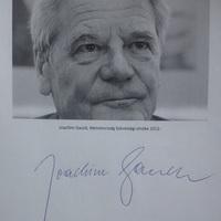 Joachim Gauck Budapesten