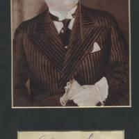 Kabos Gyula (1887-1941) aláírása