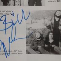 Deák Bill Gyula autogramja