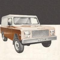 Land Master - amiből nem lett Land Rover utód