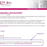 A Red Bull gázzal fújja a diffúzort! Tetszik érteni?