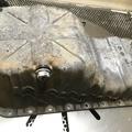 Szupertiszta Ford Sierra olajteknő