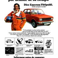 Emerson Fittipaldi y Seat 127
