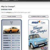 MSN Car Trumps - első vérig