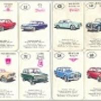 Klasszikus autóskártyák