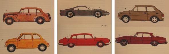 Autók az második világháború utáni évekből