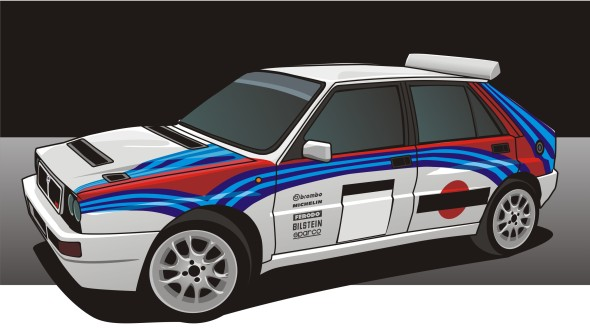 Martini Racing Lancia Delta HF Integrale