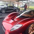 A szupersportkocsik jövője felsorakozott a belga tengerparton