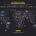 Minden ország legnépszerűbb márkája egy infografikán