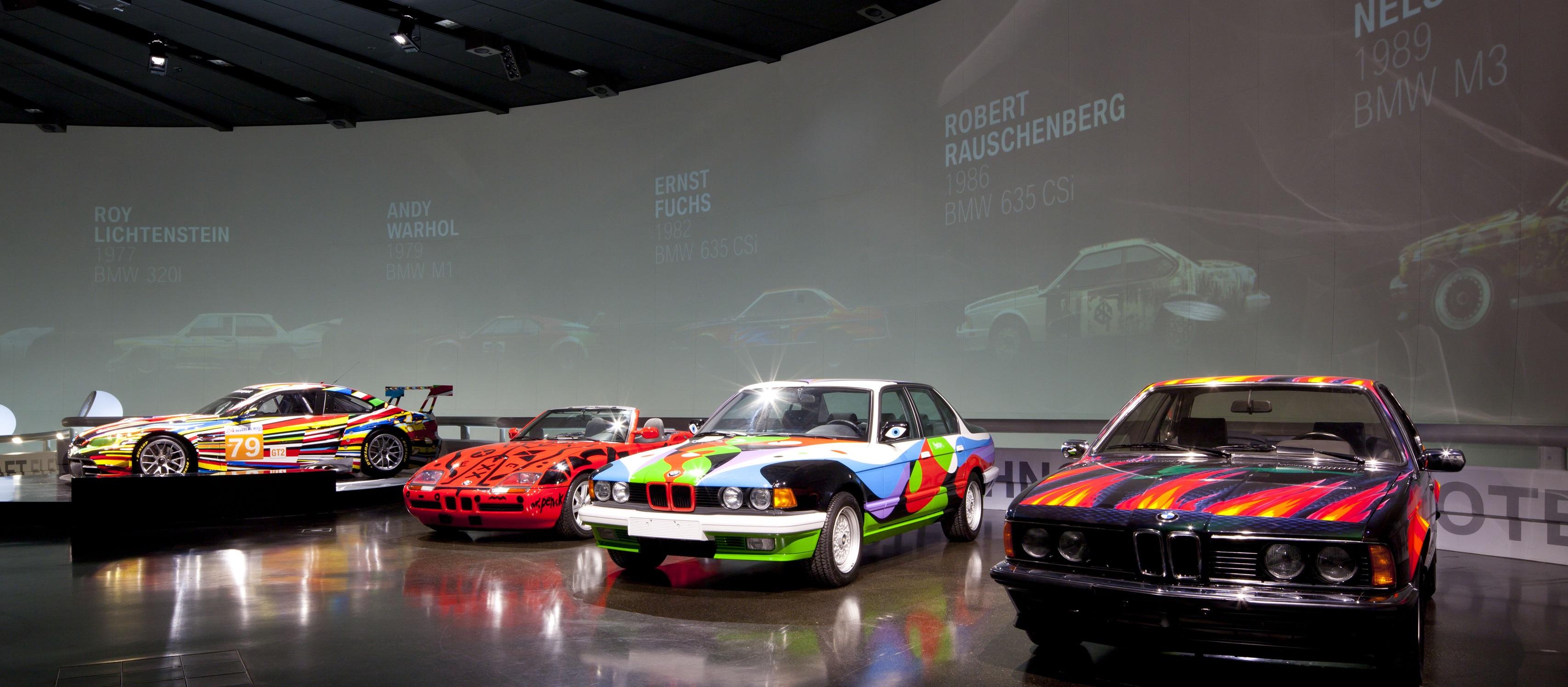 És egy valódi kiállítás, forrás: a BMW Group Archive