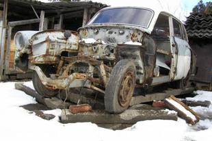 Keményhátú - Wartburg 311