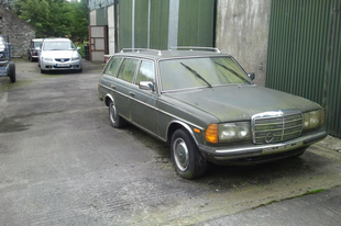 Hullócsillag, hol a csillag !?: Mercedes-Benz w123 230TE