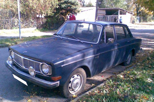 A jó öreg svéd acél... - Volvo 144