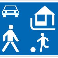 Lakó-pihegő övezet és a bérelt autó