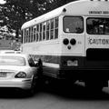 Lekoccolta a busz oldalát