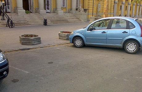Objektív felelősség parkolás