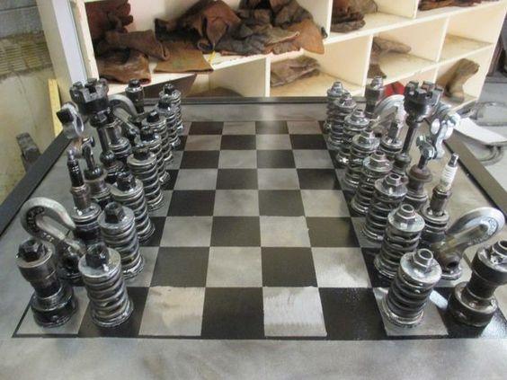 Fából készült zseb sakk-készlet? Ugyan...