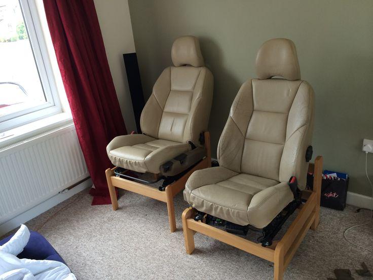 Nem tudsz elszakadni az autód ülésének kényelmétől? Kis átalakítással a nappaliban is élvezheted!