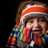 Téli séta babával
