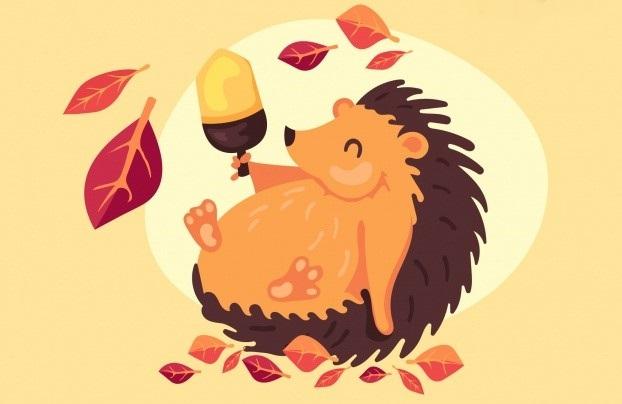 autumn-background-with-cute-hedgehog_23-2147887217.jpg