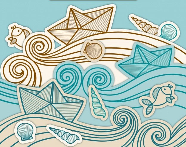 background-paper-boats-with-hand-drawn-waves_23-2147634101.jpg