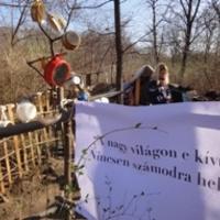 Újra kunyhókat rombolt a ferencvárosi önkormányzat