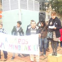Erdőhegyi Márta beszéde az Üres Lakások Menetéről