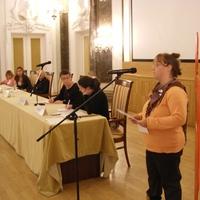 Csurika beszéde a Néma Tanúk felvonulás előtt