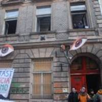 Hajléktalan aktivisták foglaltak el egy üres budapesti házat
