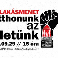 8. Lakásmenet – Csatlakozó szervezeteket várunk!
