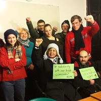 Szolidaritás a dublini Apollo-házzal