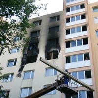 Lakástűz: az egyik lakó gyanúsított lett