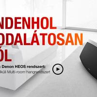 Bemutatjuk a HEOS by Denon vezetéknélküli multi-room audio rendszer tagjait